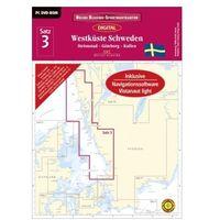 Delius Klasing-Sportbootkarten Westküste Schweden, DVD-ROM, Ausgabe 2016