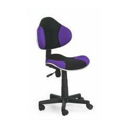 Halmar Fotel flash czarno-fioletowy - zadzwoń i złap rabat do -10%! telefon: 601-892-200