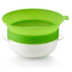 Naczynie do gotowania owsianki native z zaparzaczką do herbaty wyprodukowany przez Lekue