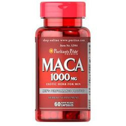 Puritan's Pride Maca extract 1000mg 60 kaps.