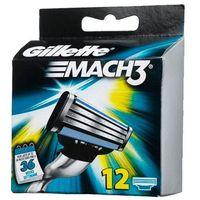 Gillette wkłady do maszynki Mach3, 12 sztuk (3014260323240)