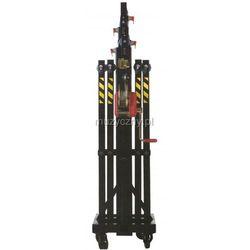 t-106 statyw oświetleniowy, czarny, 6.3m/225kg wyprodukowany przez Fantek