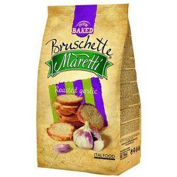 70g chrupki chlebowe z pieczonym czosnkiem | darmowa dostawa od 200 zł od producenta Bruschette maretti