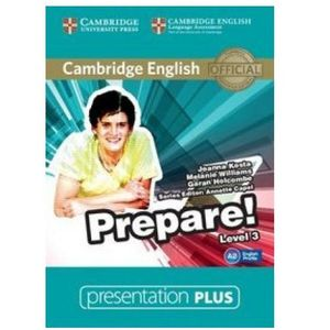 Cambridge English Prepare! 3 Presentation Plus DVD (9781107497320)