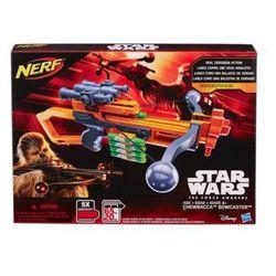 Nerf - Star Wars Przebudzenie Mocy Wyrzutnia Chewbacca Bowcaster B3172, Hasbro
