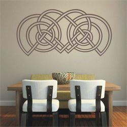 Deco-strefa – dekoracje w dobrym stylu Celtycki 63 szablon malarski