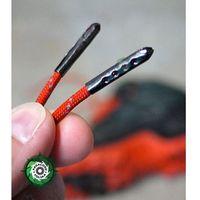 Metalowe koncówki do sznurowadeł z Paracordu kolor: