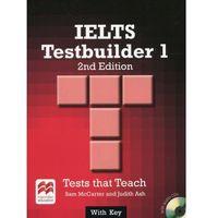 IELTS Testbuilder 1 with key and audio CDs-mamy-na-stanie,-wyślemy-już...., oprawa miękka