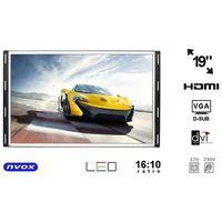 "op1900vh monitor open frame lcd 19"" cali led vga hdmi dvi 12v 230v marki Nvox"