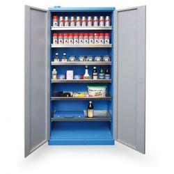 B2b partner Szafa do przechowywania niebezpiecznych substancji chemicznych 1920x920x380 mm