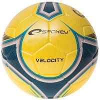 Piłka nożna Spokey Velocity spear żółto-niebieski 835917