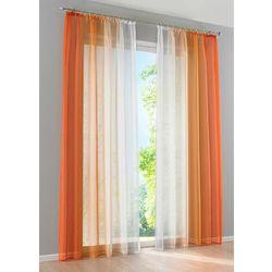 """Bonprix Firana """"cieniowane kolory"""" (2 szt.) pomarańczowy"""