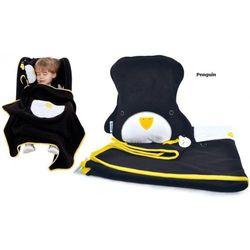 Kocyk i poduszeczka snoozihedz - penguin marki Trunki