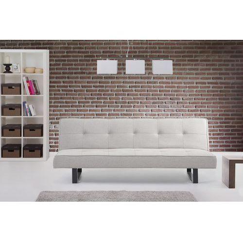 Luksusowa sofa kanapa DERBY bialoszary - sprawdź w Beliani