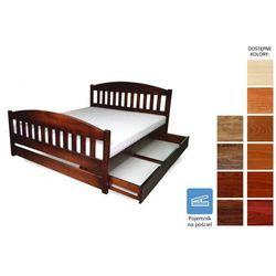łóżko drewniane amida 180 x 200 marki Frankhauer