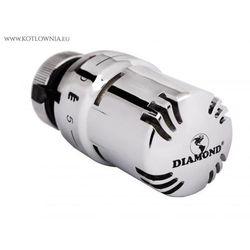głowica termostatyczna Diamond ELEGANCE - chrom - produkt z kategorii- Zawory i głowice
