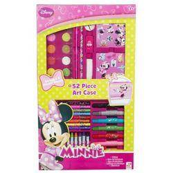Walizka z przyborami do rysowania Myszka Minnie - 52 el. (walizeczka dziecięca)