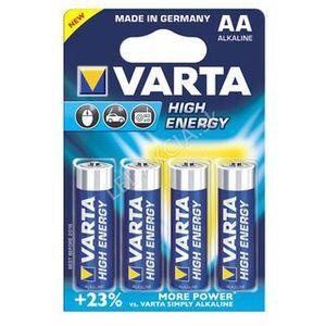 Baterie high energy aaa 4x + bezpłatna natychmiastowa gwarancja wymiany! marki Varta