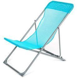 Happy green krzesło plażowe caribic, niebieskie