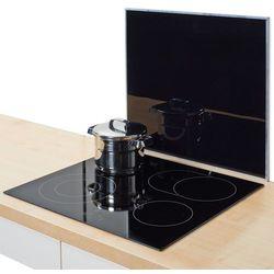 Szklana płyta ochronna BLACK na kuchenkę – duża, ZELLER