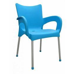 Mega plast krzesło dolce mp463, turkusowe
