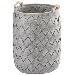 Aquanova Kosz na pranie amy silver grey 60 cm