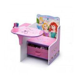 Biurko, stolik i pojemnik na zabawki 3w1, Disney Princess - sprawdź w wybranym sklepie