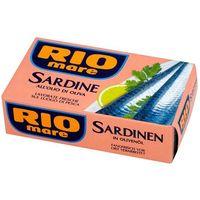 Rio mare  120g sardynki w oliwie z oliwek | darmowa dostawa od 150 zł!
