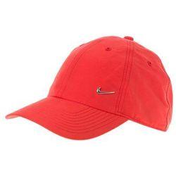 Nike Sportswear HERITAGE86 Czapka z daszkiem university red/metallic silver, towar z kategorii: Pozostała odz