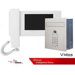 Zestaw jednorodzinny wideodomofonu VIDOS. Skrzynka na listy z wideodomofonem. Monitor 7'' S561D-SKP_M270W-S2