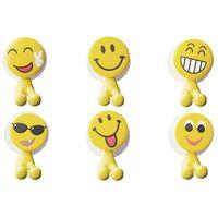 Uchwyty na szczoteczkę emotikony mix 6 modeli marki Gadget master