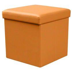 Profeos.eu Otwierana pufa lori - pomarańczowa