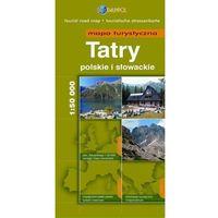 Tatry Polskie I Słowackie. Mapa Turystyczna W Skali 1:50 000, praca zbiorowa