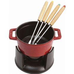 Staub mały garnek do fondue 10cm wiśniowy
