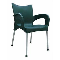 MEGA PLAST krzesło Dolce MP463, ciemnozielone