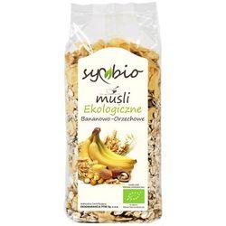 Musli bananowo-orzechowe bio 300g - Symbio