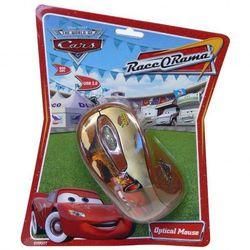 Mysz Cirkuit Planet Disney Auta optyczna, przewodowa, brązowa Darmowy odbiór w 20 miastach! - produkt z kategorii- Myszy, trackballe i wskaźniki