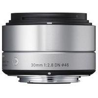 Obiektyw  digital a 19/2.8 dn micro 4/3 (mft) srebrny + darmowy transport! marki Sigma
