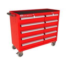 Wózek warsztatowy TRUCK z 10 szufladami PT-215-15, PT-215-15