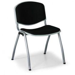 Krzesło konferencyjne Livorno, czarne