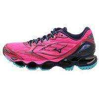 Mizuno WAVE PROPHECY 6 Obuwie do biegania treningowe pink glo/peacoat/ceramic