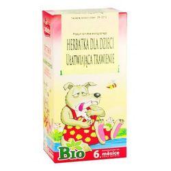 Apotheke Herbatka dla dzieci ułatwiająca trawienie bio od 6 mies. 20 x 1,5 g