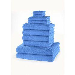"""Komplet ręczników """"new uni"""" (10 części) morski marki Bonprix"""