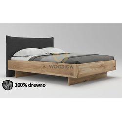 Woodica Łóżko dębowe silene 01 140x200