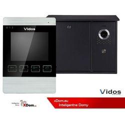 Zestaw jednorodzinny wideodomofonu. skrzynka na listy z wideodomofonem. monitor 4,3'' s551-skn_m904s marki Vidos