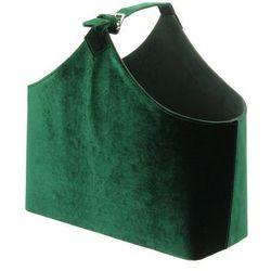 gazetnik inez green 42x18x42cm, 42x18x42cm marki Dekoria