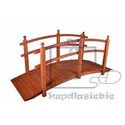 Garthen Drewniana kładka mostek ogrodowy garth 250 cm (4025327350726)