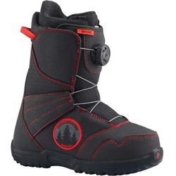 BURTON - Zipline Boa Black/Red (027) rozmiar: 5K, towar z kategorii: Buty do snowboardu