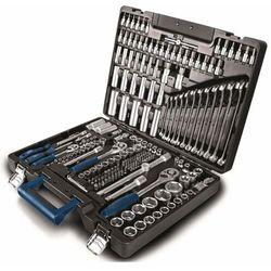Scheppach tb 217 - walizka z tworzywa sztucznego z narzędziami, 217 elementów