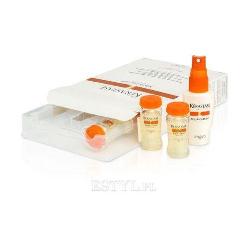 Kerastase Aqua Oleum - Kuracja do włosów zniszczonych 4 x 12 ml (pielęgnacja włosów)